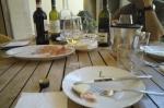 Wine tasting/luncheon at Catello di Oliveto