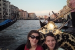Me ad Rachel on the gondola in Venice